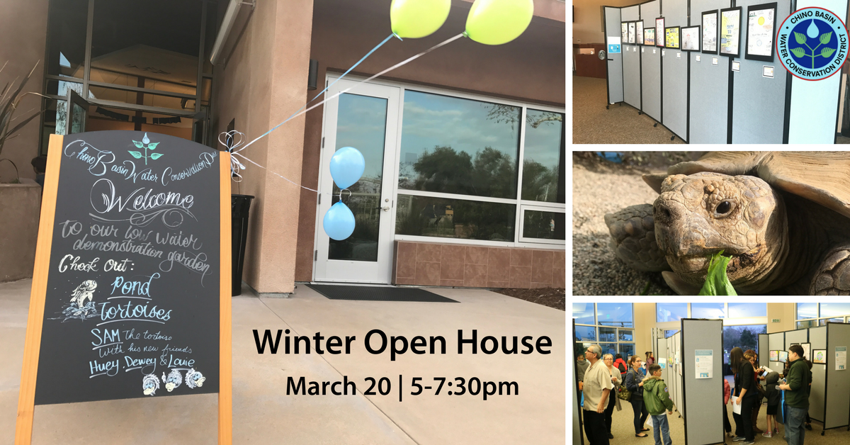 Winter Open House is March 20 from 5-7:30pm