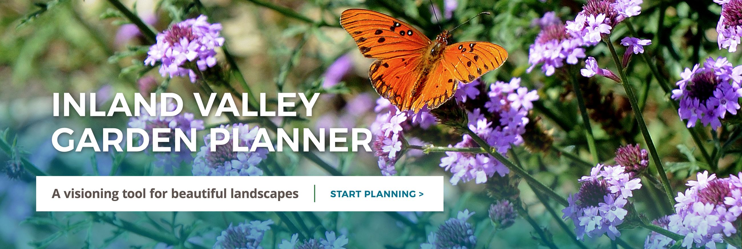 Inland Valley Garden Planner. A visioning tool for beautiful landscapes. Click to start planning.
