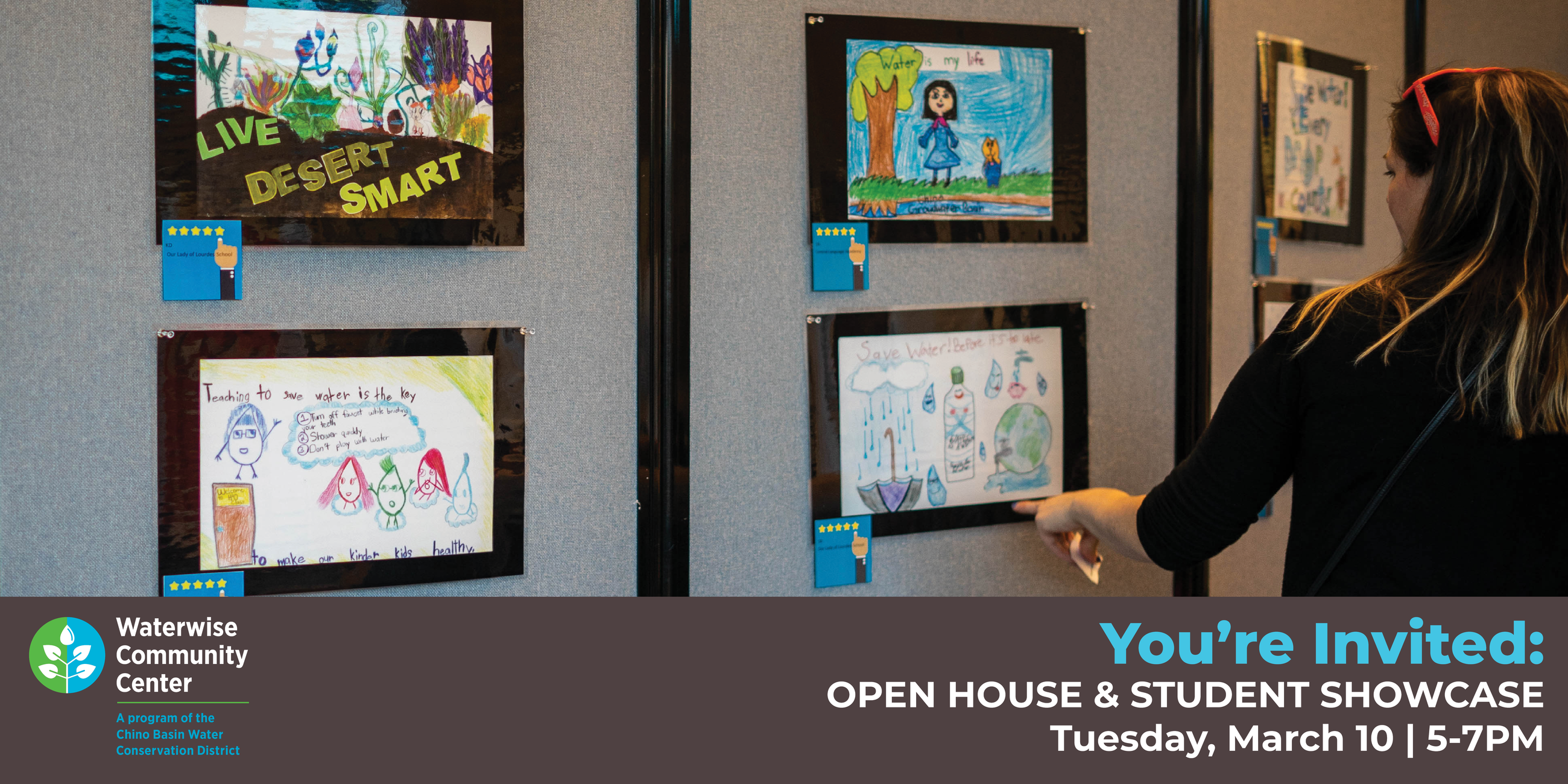 Open House & Student Showcase. Tuesday, March 10 at 5-7pm.